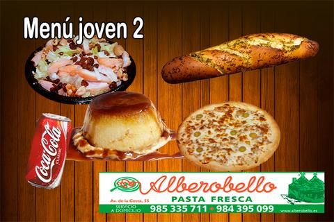 Alberobello - Menú joven 2 - Pizzería Alberobello