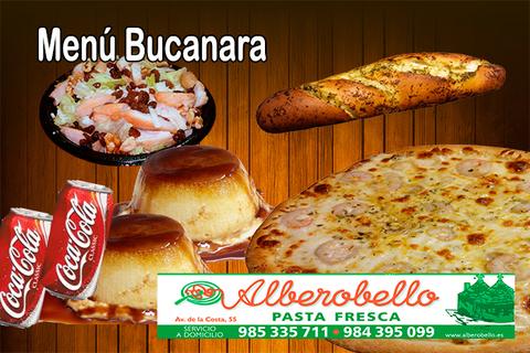 Alberobello - Menú bucanara - Pizzería Alberobello