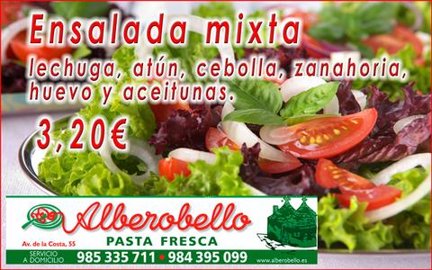 Alberobello - Ensalada mixta - Pizzería Alberobello