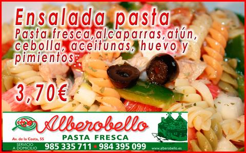 Alberobello - Ensalada de pasta - Pizzería Alberobello