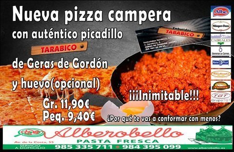 Alberobello - Pizza Campera - Pizzería Alberobello